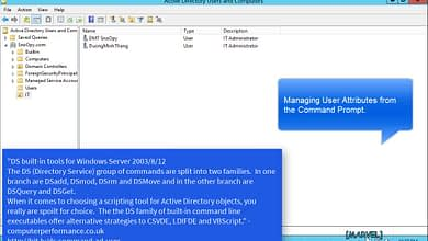 Photo of 2.2.2 Configure Active Directory user object attributes Windows Server 2008 R2 domain DC