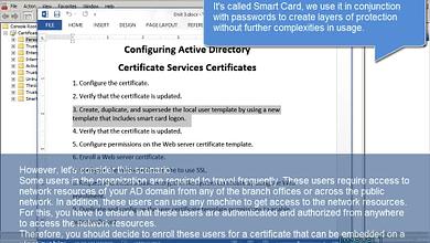 Photo of 3.2 Supersede User certificate template Smart Card Logon Enterprise Subordinate WS 2008 R2 Windows 7