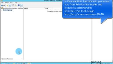 Photo of 5.5 Assign permissions to trusted identities for Selective Authentication Trust Relationship