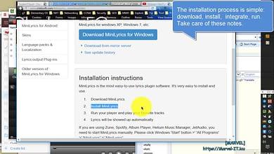 Photo of MiniLyrics – Display lyrics for your favorite music OSD – Free – Windows 10