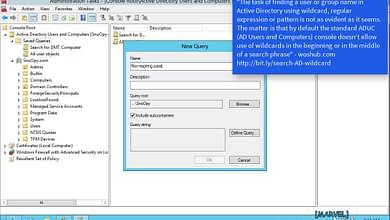Photo of 2.1.3 Find domain objects in Active Directory ADUC AD DS Windows Server 2012 R2