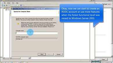 Photo of 5.2 Raise the forest Functional Level to Windows Server 2003 – domain Windows Server 2008 R2