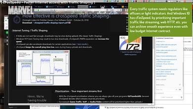 Photo of cFosSpeed – Traffic shaping, Network bandwith limiter, Wi-Fi hotspot Windows 10 Fix slow Internet