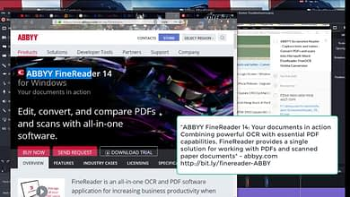 Photo of ABBYY Screenshot Reader-Convert PDFs, scans into Microsoft Word FineReader FreeOCR Online Conversion