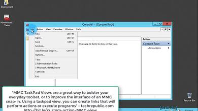 Photo of 2.1.1 Create a custom Active Directory administrative console MMC – Windows Server 2012 R2