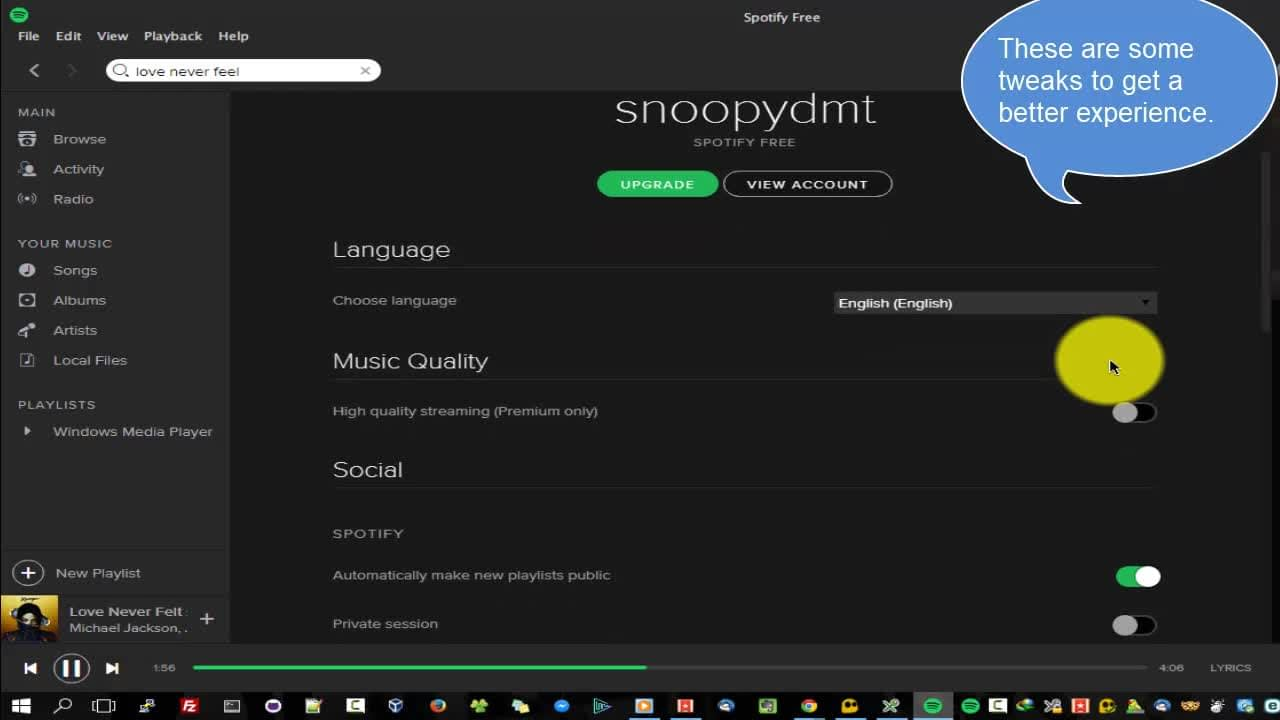 Spotify and lisztomania Music on the go Licensed Song Tracks Radio Windows Ubuntu Android iOS   English-Life Style IT