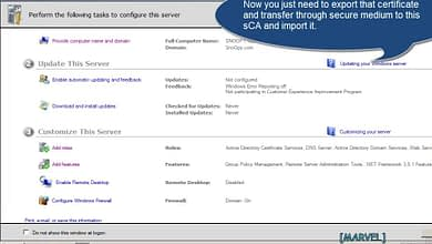Photo of 2.3 Issue-Install certificates through Subordinate Certificate Authority Windows Server 2008 Enterprise