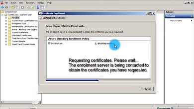 Photo of 3.1 Configure a User certificate template Enterprise Sub WS 2008 R2 Win 7 Client Auth Secure Email EFS