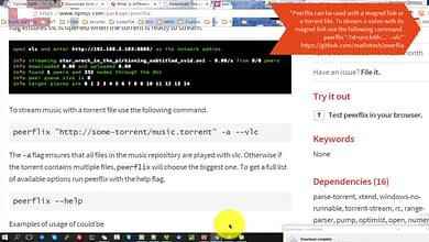 Node.js Peerflix – PopcornTime and Google Chrome magnet torrent streaming with VLC PotPlayer