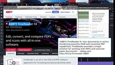 ABBYY Screenshot Reader-Convert PDFs, scans into Microsoft Word FineReader FreeOCR Online Conversion
